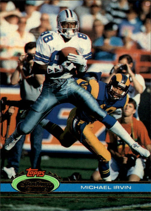 1991 Stadium Club #37 Michael Irvin