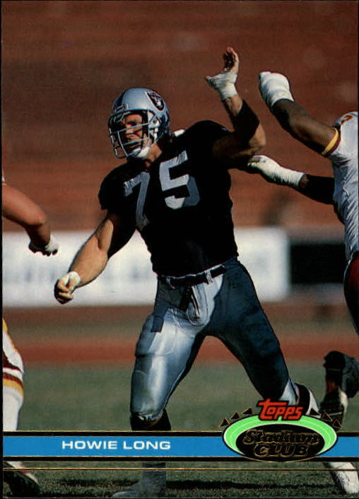 1991 Stadium Club #61 Howie Long front image