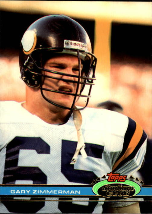1991 Stadium Club #66 Gary Zimmerman