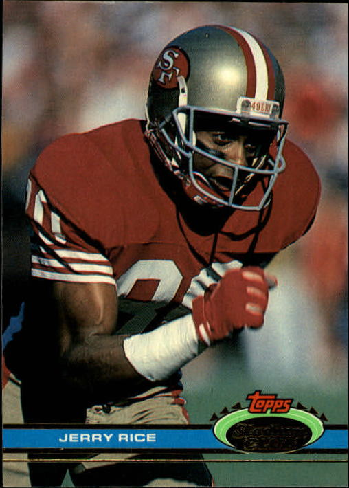 1991 Stadium Club #71 Jerry Rice