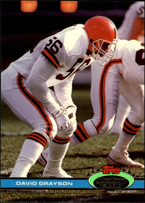 1991 Stadium Club #77 David Grayson