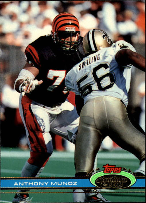 1991 Stadium Club #119 Anthony Munoz