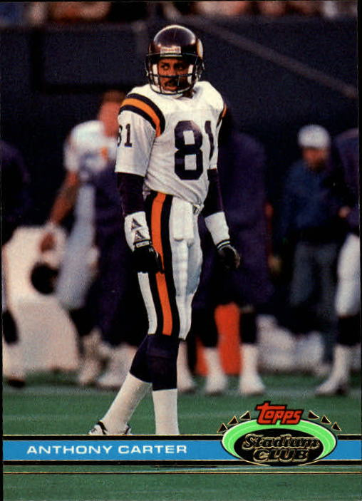 1991 Stadium Club #267 Anthony Carter