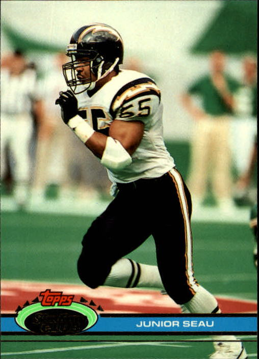 1991 Stadium Club #317 Junior Seau
