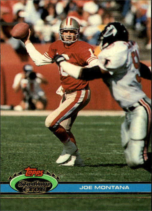 1991 Stadium Club #327 Joe Montana