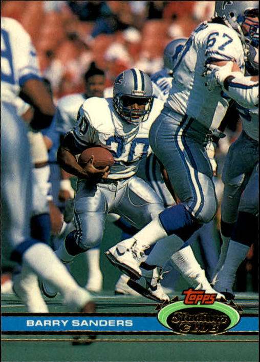 1991 Stadium Club #361 Barry Sanders