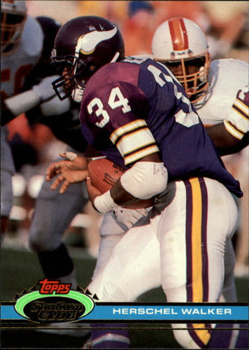 1991 Stadium Club #401 Herschel Walker