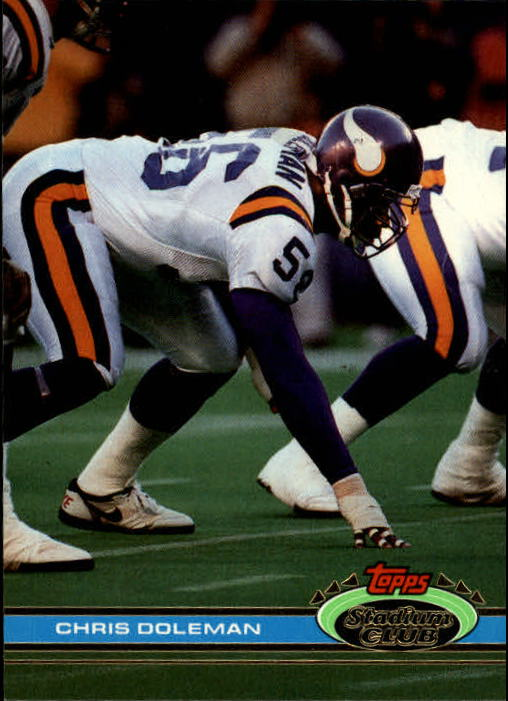 1991 Stadium Club #478 Chris Doleman