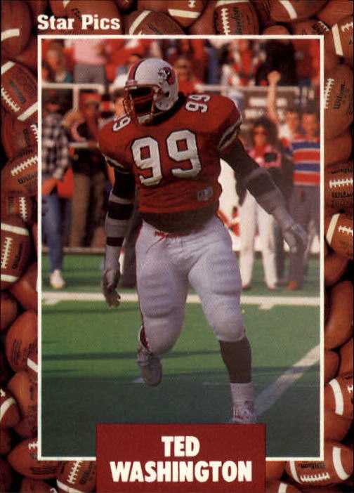 1991 Star Pics #21 Ted Washington