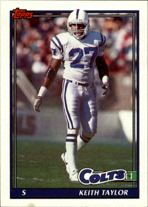 1991 Topps #348 Keith Taylor