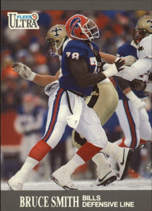 1991 Ultra #8 Bruce Smith