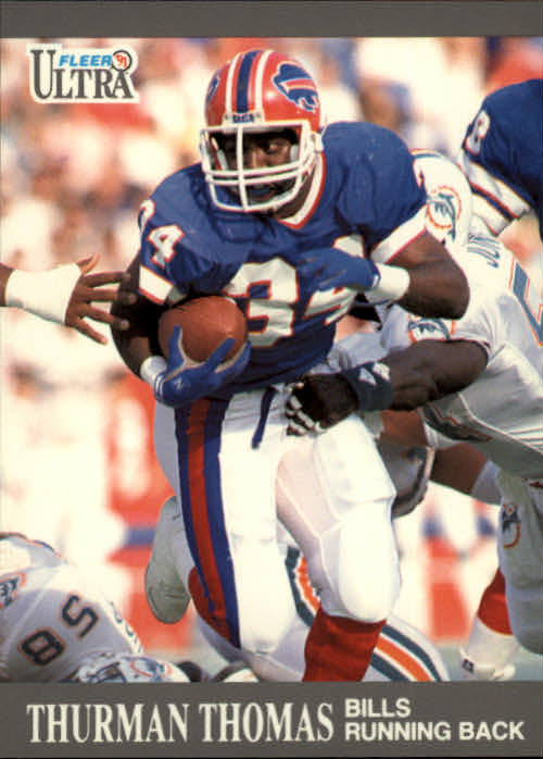 1991 Ultra #10 Thurman Thomas