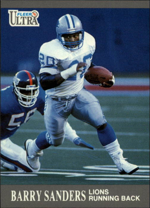 1991 Ultra #169 Barry Sanders