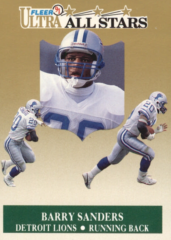 1991 Ultra All-Stars #1 Barry Sanders