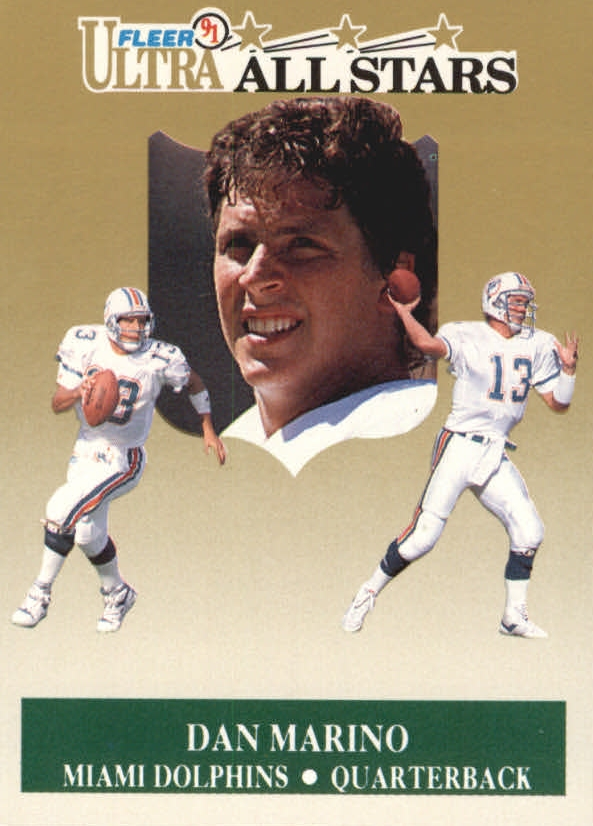 1991 Ultra All-Stars #5 Dan Marino