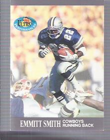 1991 Ultra Performances #1 Emmitt Smith