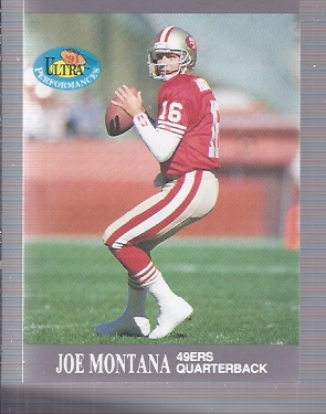 1991 Ultra Performances #4 Joe Montana