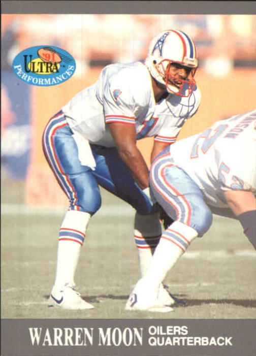 1991 Ultra Performances #5 Warren Moon