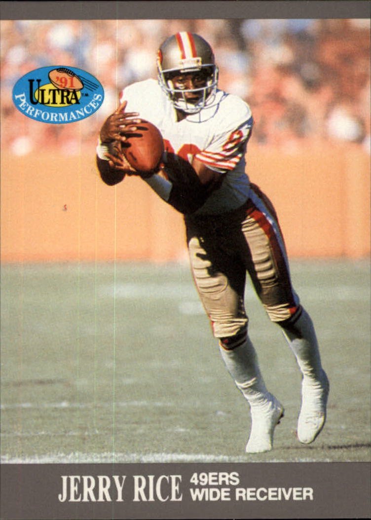 1991 Ultra Performances #9 Jerry Rice