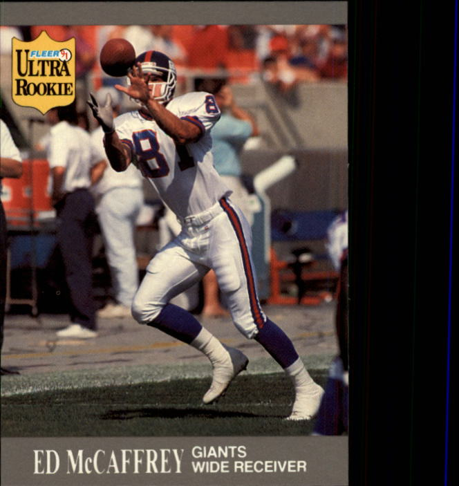 1991 Ultra Update #U65 Ed McCaffrey RC