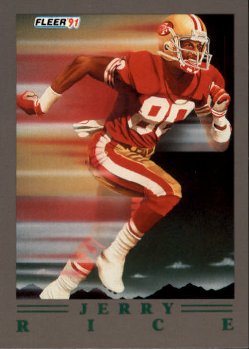 1991 Ultra Update #99 Jerry Rice/1991 Pro-Visions