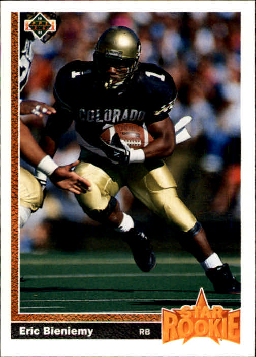 1991 Upper Deck #2 Eric Bieniemy RC
