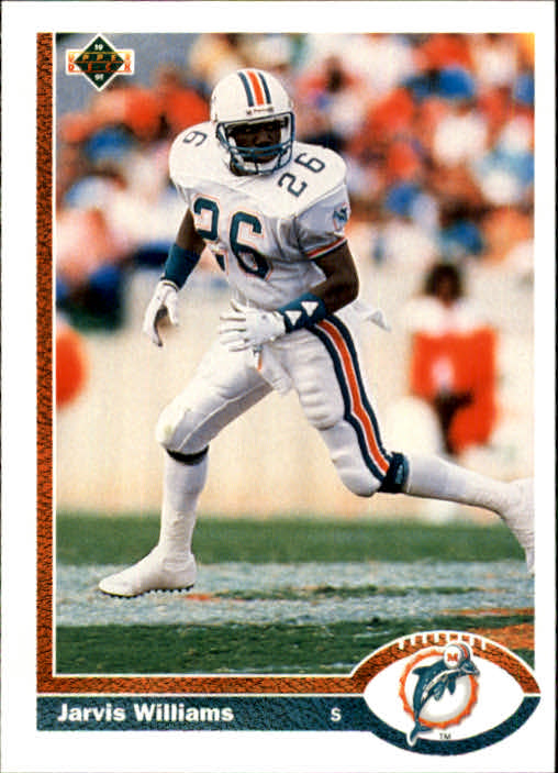 1991 Upper Deck #51 Jarvis Williams