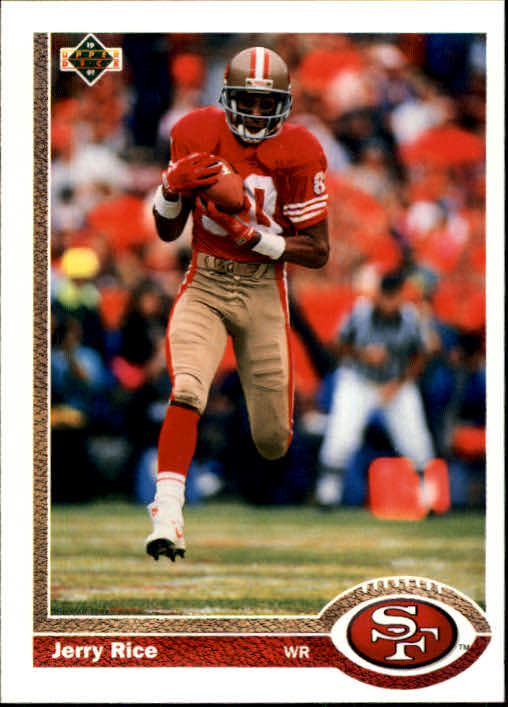1991 Upper Deck #57 Jerry Rice