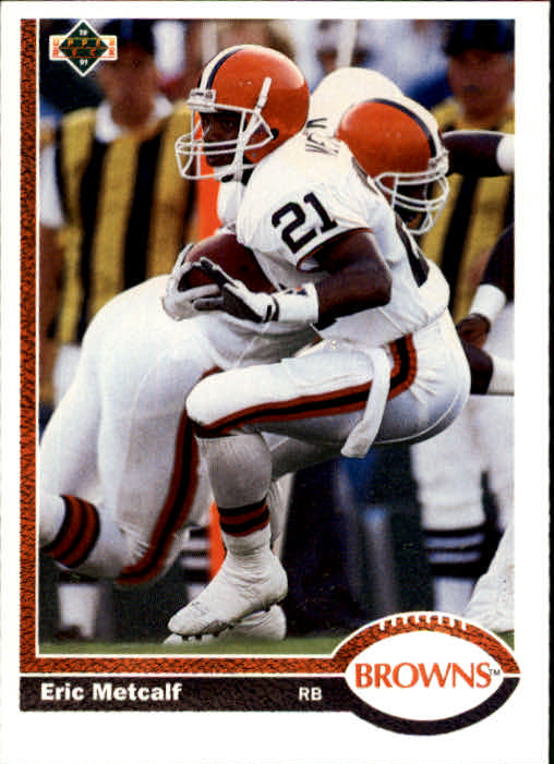1991 Upper Deck #70 Eric Metcalf