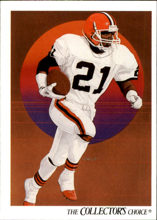 1991 Upper Deck #76 Eric Metcalf TC