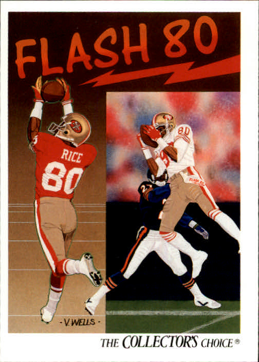 1991 Upper Deck #86 Jerry Rice TC