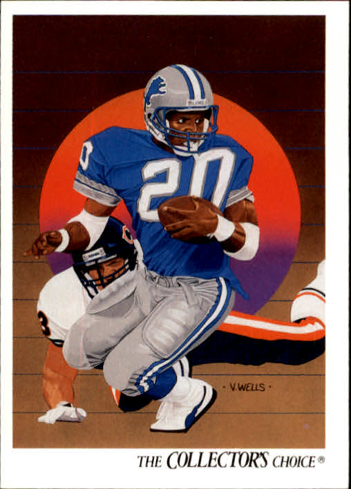 1991 Upper Deck #89 Barry Sanders TC