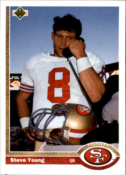 1991 Upper Deck #101 Steve Young