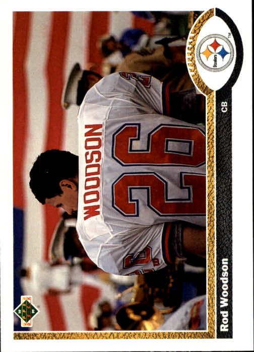 1991 Upper Deck #111 Rod Woodson