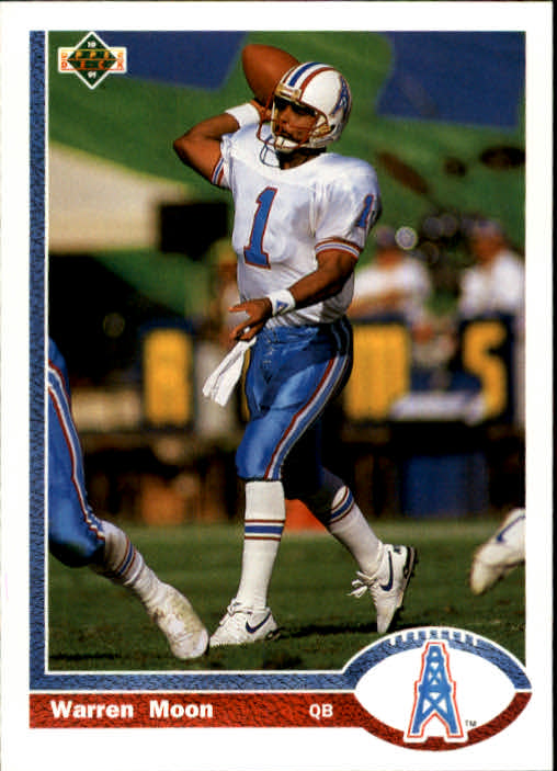 1991 Upper Deck #256 Warren Moon