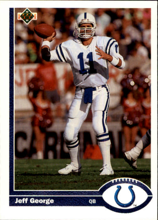 1991 Upper Deck #345 Jeff George