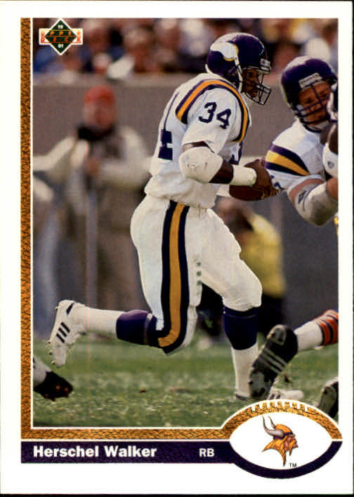 1991 Upper Deck #346 Herschel Walker