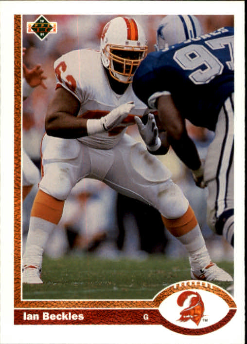 1991 Upper Deck #390 Ian Beckles