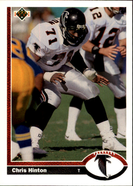 1991 Upper Deck #394 Chris Hinton