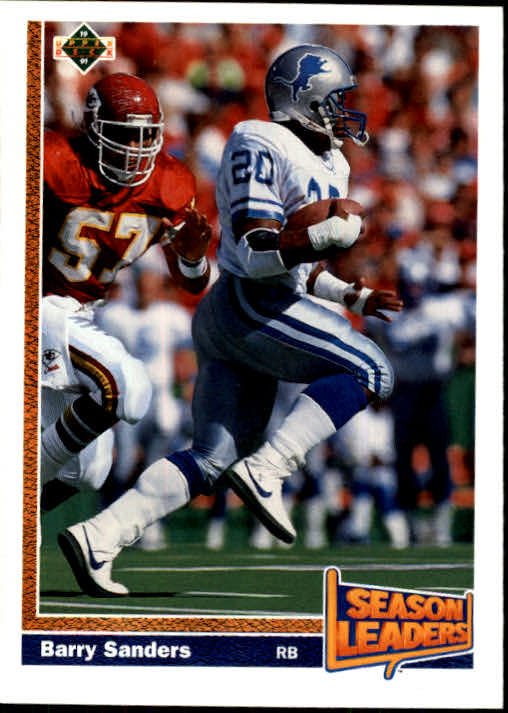1991 Upper Deck #401 Barry Sanders SL