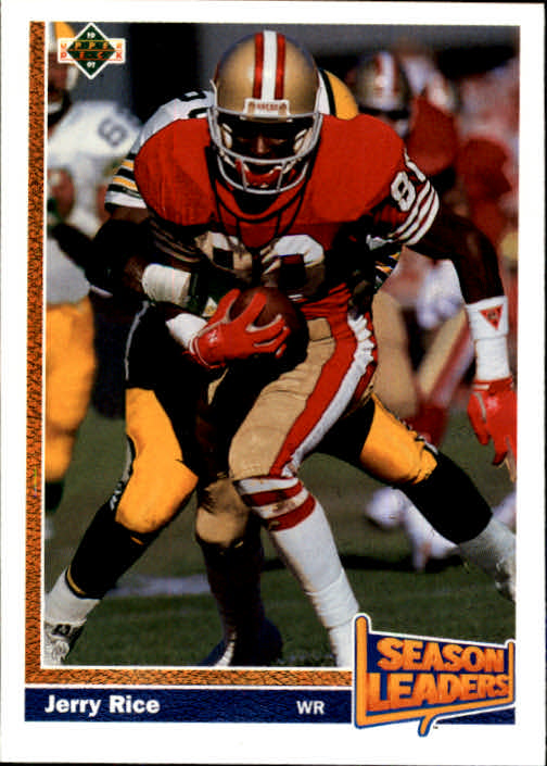 1991 Upper Deck #402 Jerry Rice SL