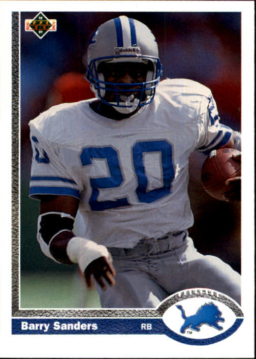 1991 Upper Deck #444 Barry Sanders