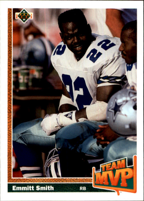 1991 Upper Deck #456 Emmitt Smith TM