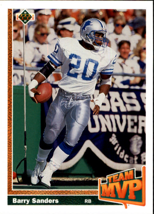 1991 Upper Deck #458 Barry Sanders TM