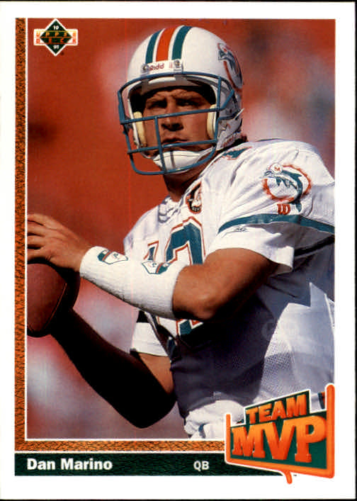 1991 Upper Deck #465 Dan Marino TM
