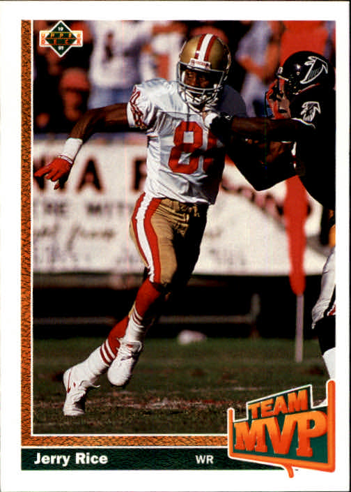 1991 Upper Deck #475 Jerry Rice TM