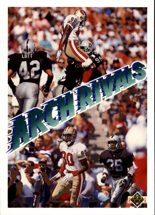 1991 Upper Deck #655 J.Rice/T.McDaniels AR