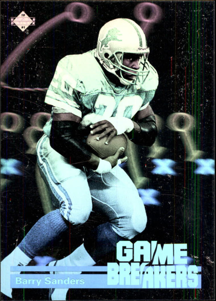 1991 Upper Deck Game Breaker Holograms #GB1 Barry Sanders