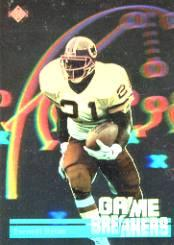 1991 Upper Deck Game Breaker Holograms #GB4 Earnest Byner
