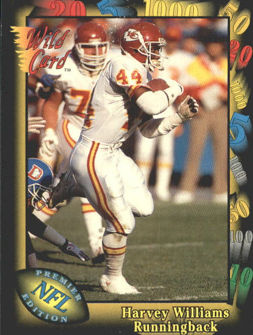 1991 Wild Card #23 Harvey Williams RC